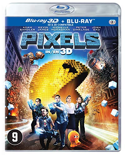 BLU-RAY - Pixels 3D (1 BLU-RAY)