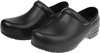 Lovoski Men and Women Slip Resistant Work Clogs for Chef Nurse Working Food Service Restaurant Work Shoes
