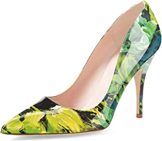 57f81f835f3 Amazon.com: Green - Pumps / Shoes: Clothing, Shoes & Jewelry