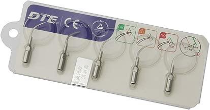 NSKI 5 Pcs Original Woodpecker DTE Ultrasonic Cleaning Tips PD1 Perio for Satelec Periodontics