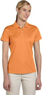 adidas Golf Ladies Climalite Basic Short-Sleeve Polo