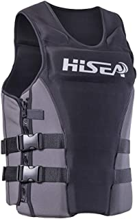 IREENUO Life Vest for Men and Women Professional Life Jacket for Adults