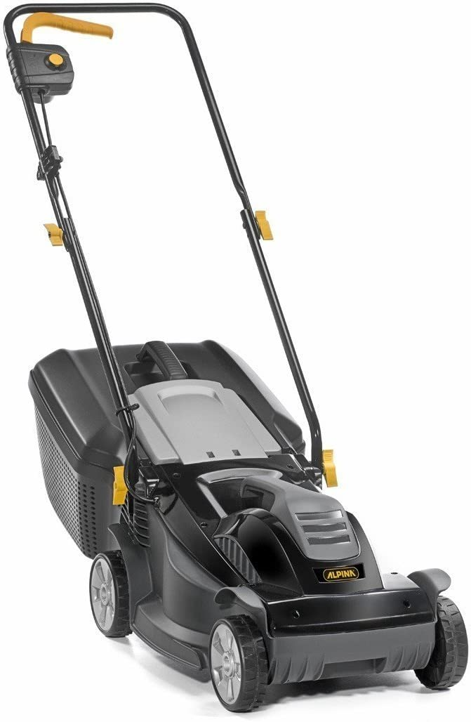 Kit Alpina BL 380y Cortacésped eléctrico, 40L, corte 38cm Con Omaggio BL380