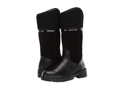 Geox Kids Jr Casey Waterproof 2 (Little Kid/Big Kid) (Black Oxford) Girls Shoes