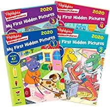 Highlights My First Hidden Pictures 2020 4-Book Set