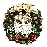 Ezstax Christmas Garland Decor Natale Appeso Ornamenti, Poliuretano