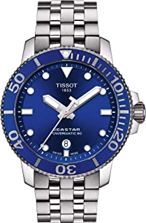 Seastar 1000 Automatic Blue Dial Men's Watch T120.407.11.041.00