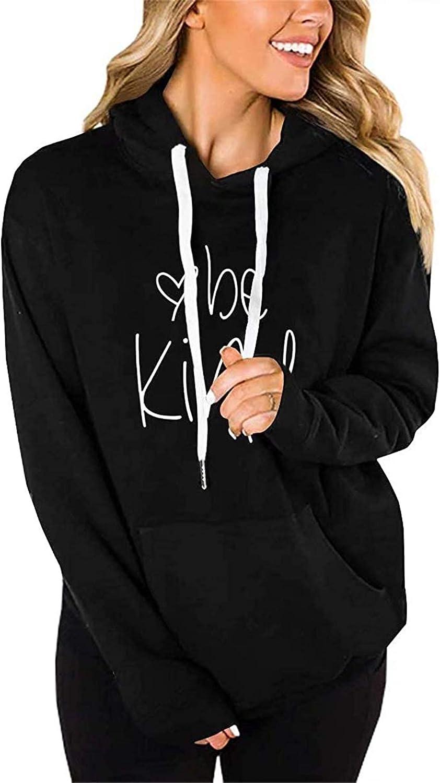 ONLYSHE 2021new shipping free Womens Pullover Hoodie Casual Sweatshirt Sleeve New item Long Gra