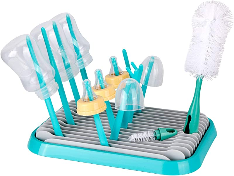 Baby Bottle Drying Rack Topoint Bottle Dryer Holder For Feeding Bottles Accessories Including Brushes