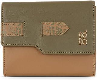 Baggit Autumn-Winter 2020 Faux Leather Women's 3 Fold Wallet (Yellow) (Lzxe Miranda)
