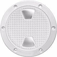 Lingge Dekplaat 4 in ABS Lukendeksel wit rond anti-UV corrosiebestendig bootinspectie Lukendeksel Marine cool