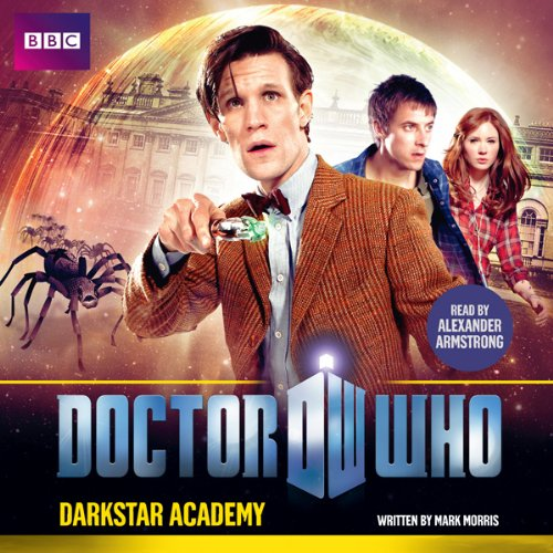 Doctor Who: Darkstar Academy audiobook cover art