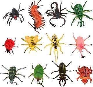 comprar comparacion TOYMYTOY 12pcs juguetes modelo de insectos para niños trucos de fiesta (Variodos Colores)