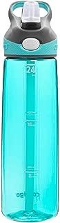 Contigo ADB100A09 Straw Addison Water Bottle,  24oz,  Ocean