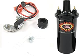 Pertronix 2842/40511 Ignitor & Flame-Thrower - 40,000 Volts 1.5 Ohm Coil Kit for Bosch 4 Cylinder