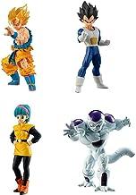 Dragonball Super Set Complet 4 Figures 9cm Collection Freezer Arc High Grade Serie 03 Freeza HG 03 Bandai Gashapon Goku Vegeta Bulma Freezer