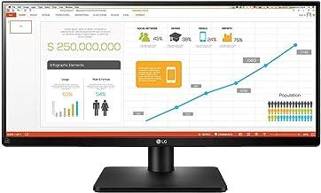 "LG 29UB67-B - Monitor Profesional UltraWide WFHD de 73.7 cm (29"") con Panel IPS (2560 x 1080 píxeles, 21:9, 300 cd/m², sRG..."