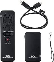 JJC RMT-VP1K Wireless Remote Control for Sony A7 III A7R IV III A7S II A9 A6000 A6100 A6300 A6400 A6500 A6600 RX100 VII VA V IV III FDR-AX33 AX53 AX100 AX700 HDR-CX405 CX440 CX455 CX675 CX900 & More
