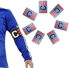 Elastic band captain soccer soccer team sport white blue 256-1