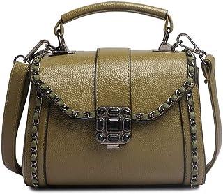 Shoulder Bag Hobos & Shoulder Bags Totes Women's Bag Temperament Shoulder Slung Handbag Handbag Clutch (Color : Green)