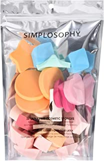 Sponsored Ad - Simplosophy Latex-Free Cosmetic Sponges Assorted 36 Count