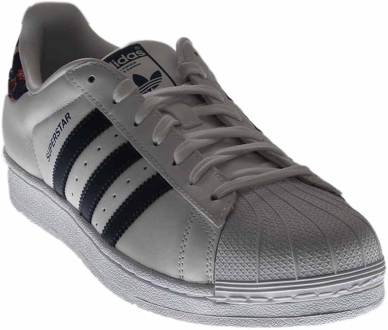 Adidas Superstar Woherrar skor vit vit vit  St Dark Slate  vit s80481 (11 B (M) US)  presentera alla senaste high street mode