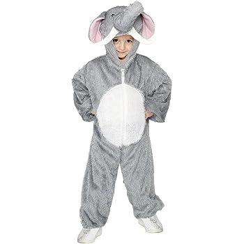 NET TOYS Traje de Elefante para niños Disfraz Animal Salvaje ...