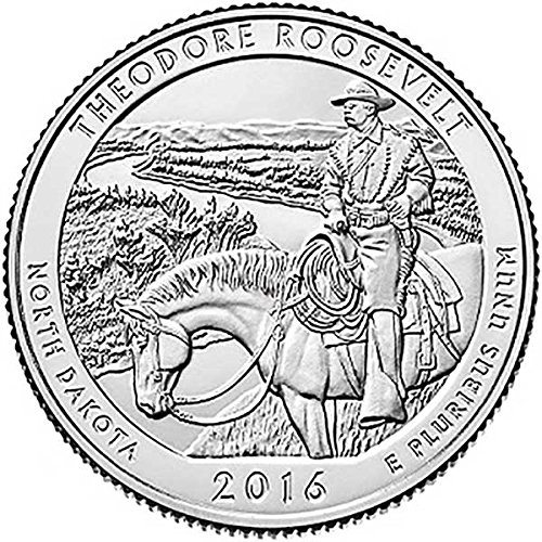 2016 P Bankroll of 40 – Theodore Roosevelt, ND National Park Quarter Uncirculated