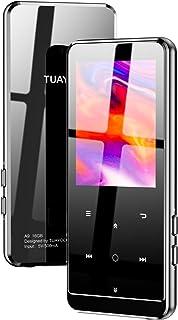 MP3プレーヤー TUAYOO Bluetooth5.0 mp3プレーヤー HIFI超高音質 2.4インチ HD大画面 16GB内蔵 64GB拡張可能 大容量 音楽プレーヤー ポータブルオーディオプレーヤー ブルートゥース 小型 超軽量 FMラ...