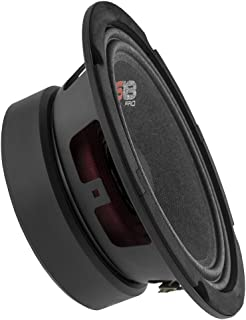 DS18 PRO- Loudspeaker Premium Quality Audio Door Speakers for Car or Truck Stereo Sound System 6.5-Inch 8-Ohms PRO-GM6