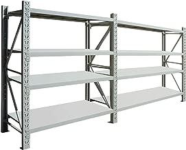 2.4m x 4m x 0.6m 1600kg Long Span Garage Shelving Longspan Racking
