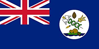 magFlags XS Flag Vancouver Island   Landscape Flag   0.375m²   4sqft   40x80cm   17x34inch - 100% Made in Germany - Long Lasting Outdoor Flag