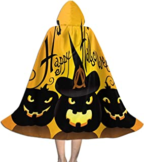 Khdkp Unisex Kids Hooded Cloak Cape, Cosplay Costume Cape Halloween Decoration