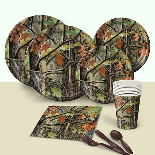Hunting Camo Birthday Party Pack by Shindigz