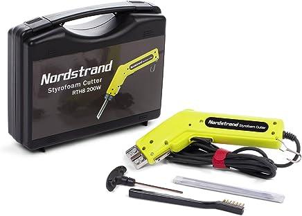 Cortador electrónico de poliestireno por calor Nordstrand 190W + cuchilla de 150mm y accesorios