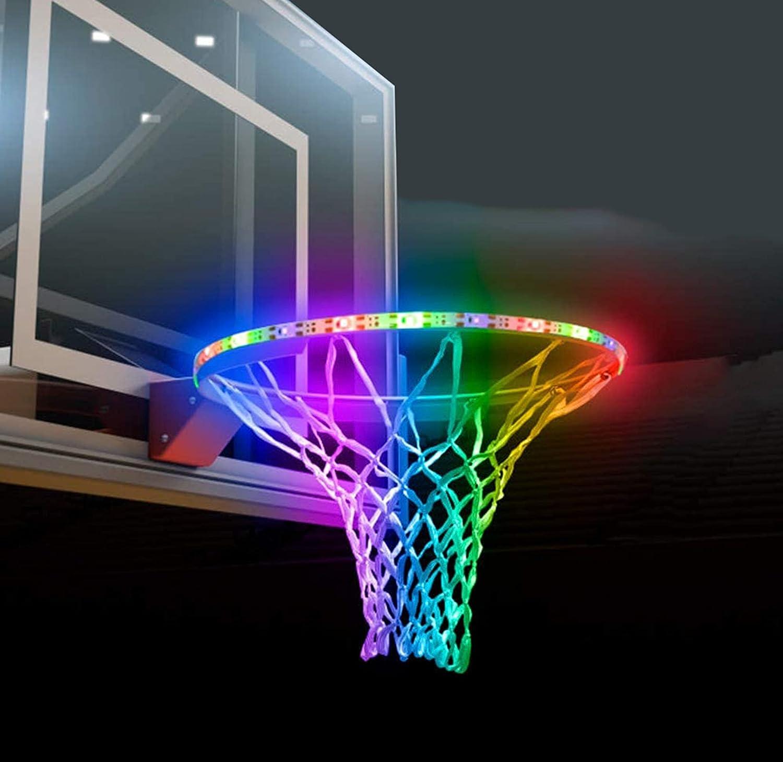 Max 83% OFF SCOTEEP Solar Arlington Mall LED Basketball Lights Rim Hoop Lig