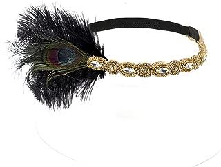 art deco headwear