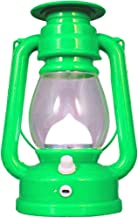 Kuber Industries Solar Lantern Emergency Light - Rechargeable, Portable - Travel Camping Lantern - Green-CTKTC22910