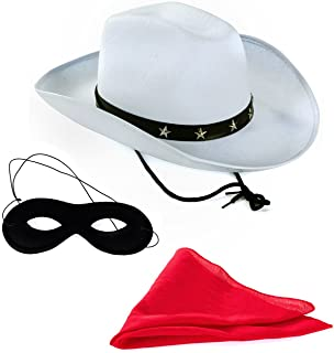 Tigerdoe Texas Ranger - 3 Pc Set - Masked Ranger - Western Costume - Wild West Costumes