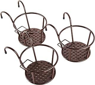 hanging flower baskets for fences