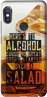 Macmerise Alcohol Fact Written Sublime Case for Xiaomi Redmi Note 5 Pro - Multi Color
