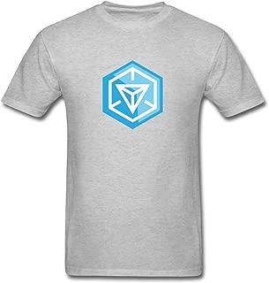 ZHENGXING Men's Ingress Video Game Logo T-Shirt S ColorName Short Sleeve