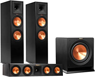 Klipsch RP-280F Reference Premiere Floorstanding Speaker Package with RP-450C Center Channel Speaker and R115 15
