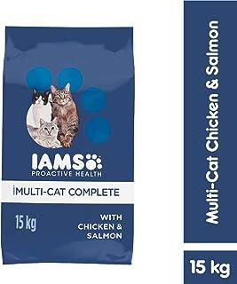 Iams Proactive Health Multi Cat Complete Adult 15 kg 1 Pack Medium