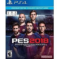 PES 2018 Pro Evolution Soccer Legendary Edition PlayStation 4 プロ進化サッカー伝説版 プレイステーション4北米英語版 [並行輸入品]