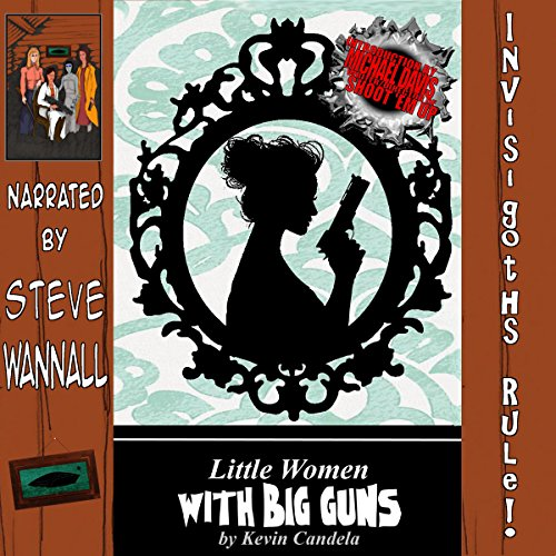 Little Women with Big Guns audiobook cover art