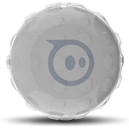HEXNUB – Clear Cover for Sphero Robotic Ball 2.0 and SPRK App-Enabled Toys, Robot Protection, Improved Traction