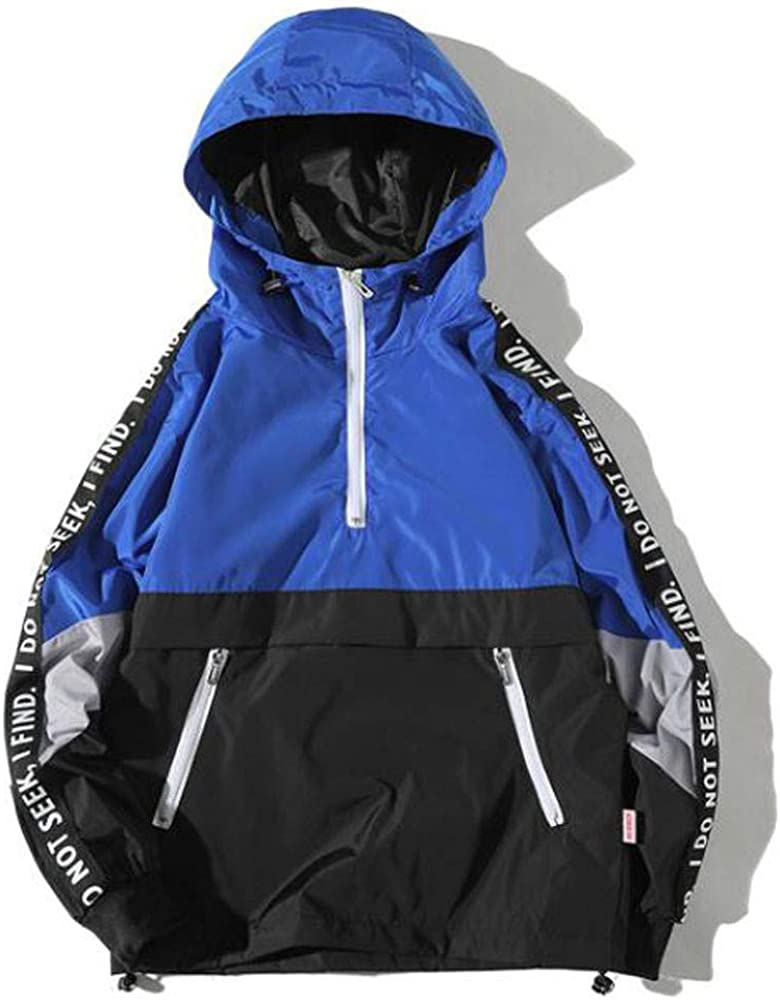 Sunhusing Men Winter Style Ranking TOP3 Hooded Blue Jacket Assault Max 62% OFF Pocket
