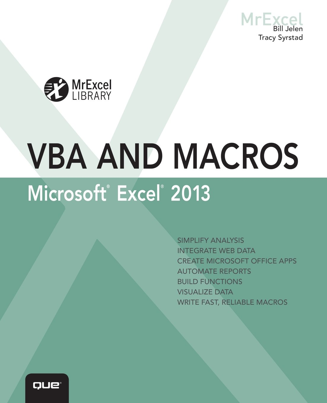 Image OfExcel 2013 VBA And Macros (MrExcel Library)