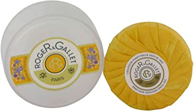 Bouquet Imperial Soap By Roger & Gallet. Soap in Travel Case 3.5 Ounces